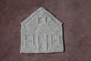 Knitted Nineteen Hundred House Dishcloth