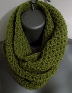 Crochet Trellis Cowl