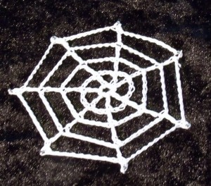 Crochet Spiders Web
