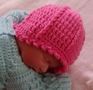 Hat in a Hurry Crochet Newborn Hat
