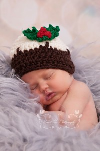 Crochet Christmas Pudding Hat