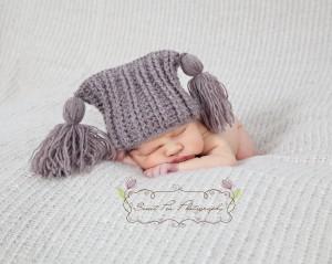 IRibbed Chunky Tassel Hat Crochet