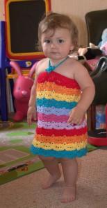 Summer Combo Dress 1