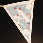 Ppaer cut bunting
